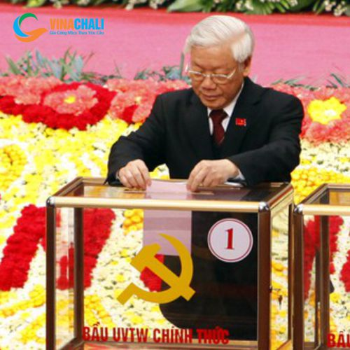 Hòm phiếu đại hội đảng bộ