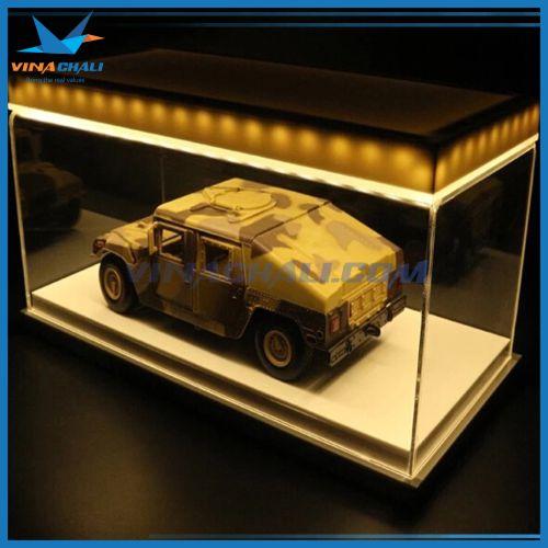 Hộp mica trưng bày ô tô đẹp