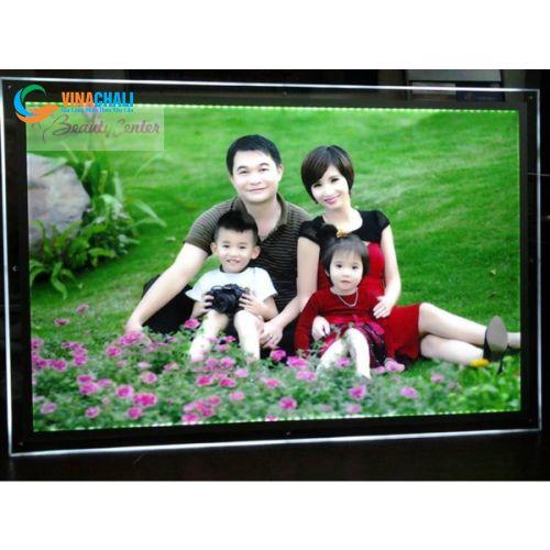 Tranh điện mica gia đình