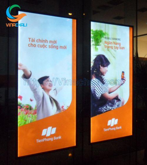 Tranh điện mica dùng để quảng cáo hiệu quả