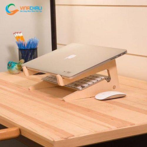 kệ đỡ laptop bằng gỗ